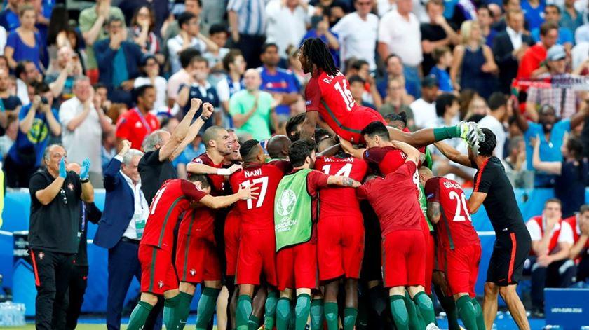Portugal venceu o Euro mas... sabe tudo sobre o que nos levou até aí? Foto: uefa.com