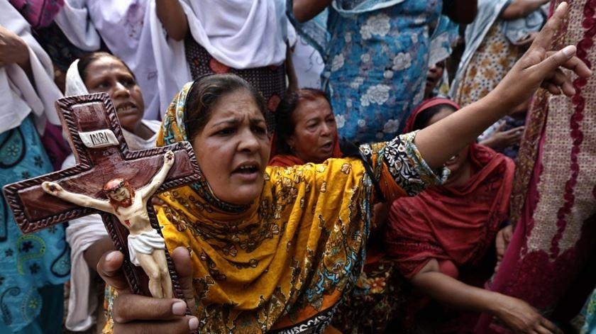 Os cristãos queixam-se de discriminação no Paquistão. Foto: DR