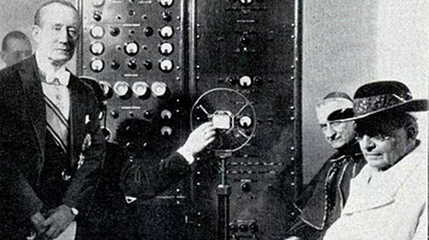 O nascimento da Rádio Vaticano. Foto: DR