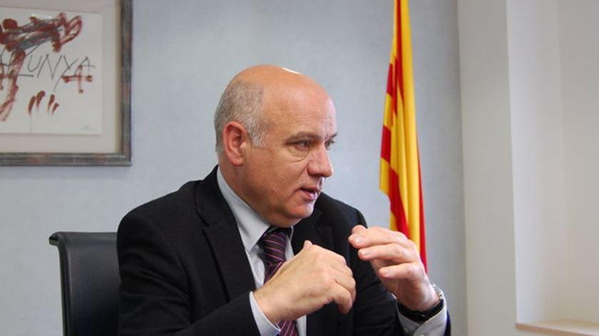O antigo jornalista Ramon Font vai chefiar a delegação do governo autonómico catalão na capital Portuguesa. Foto: DR