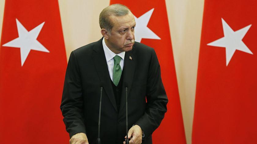 Racip Tayyip Erdogan. Foto: Yuri Kochetkov/EPA