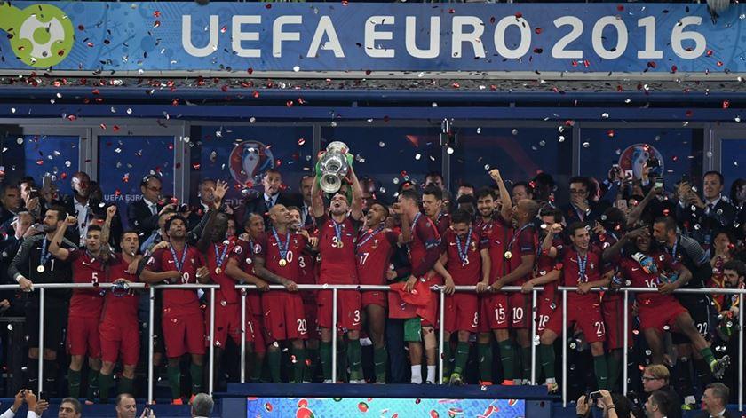 Aquele momento que nenhum português vai mais esquecer. Foto: uefa.com