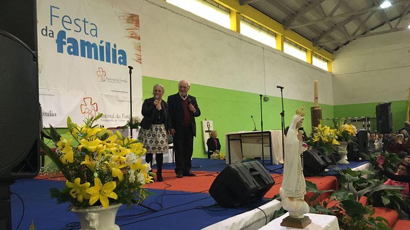 Ruy de Carvalho participou na Festa da Família. Foto: Maria João Costa/RR