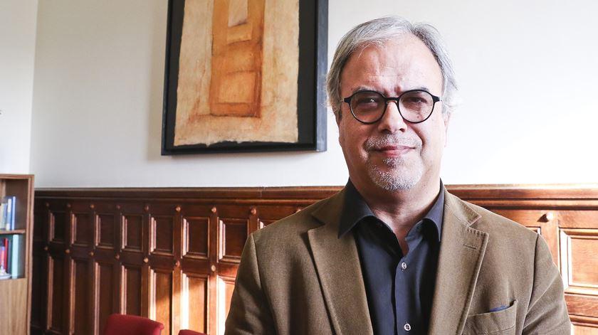 José Manuel Pureza, deputado do Bloco, é um dos rostos principais da petição a favor da eutanásia. Foto: Dina Soares/RR