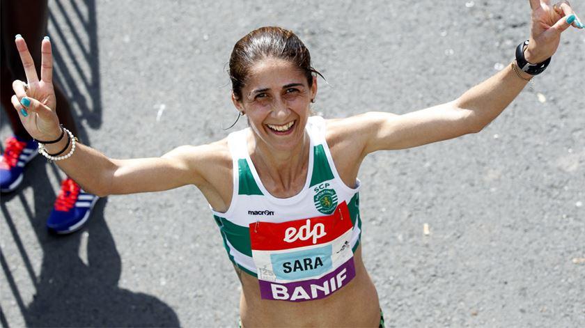Sara Moreira tem coleccionado classificações de destaque esta temporada. Foto: Steven Governo/Lusa