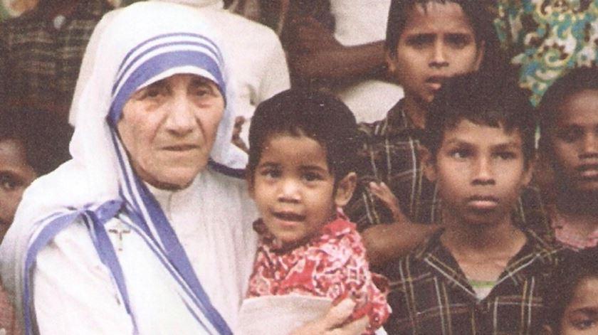 Madre Teresa de Calcuta. Foto: DR
