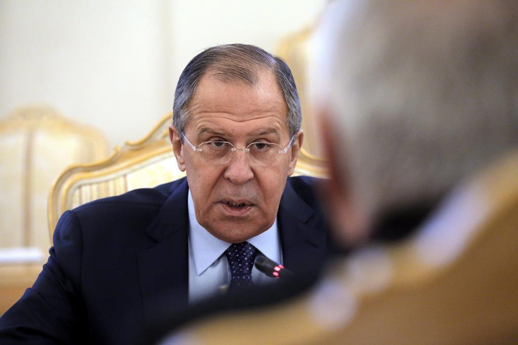 Sergei Lavrov, ministro dos Negócios Estrangeiros da Rússia. Foto: Maxim Shipenkov/EPA