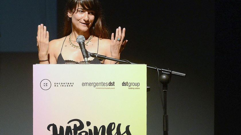 Sonja Hamad, vencedora do prémio. Foto: DST/DR