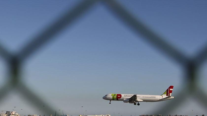 Francisco viaja para Roma num avião da TAP. Foto: Lusa