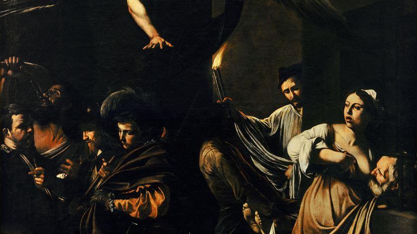 As Sete Obras de Misericórdia, Caravaggio, 1607